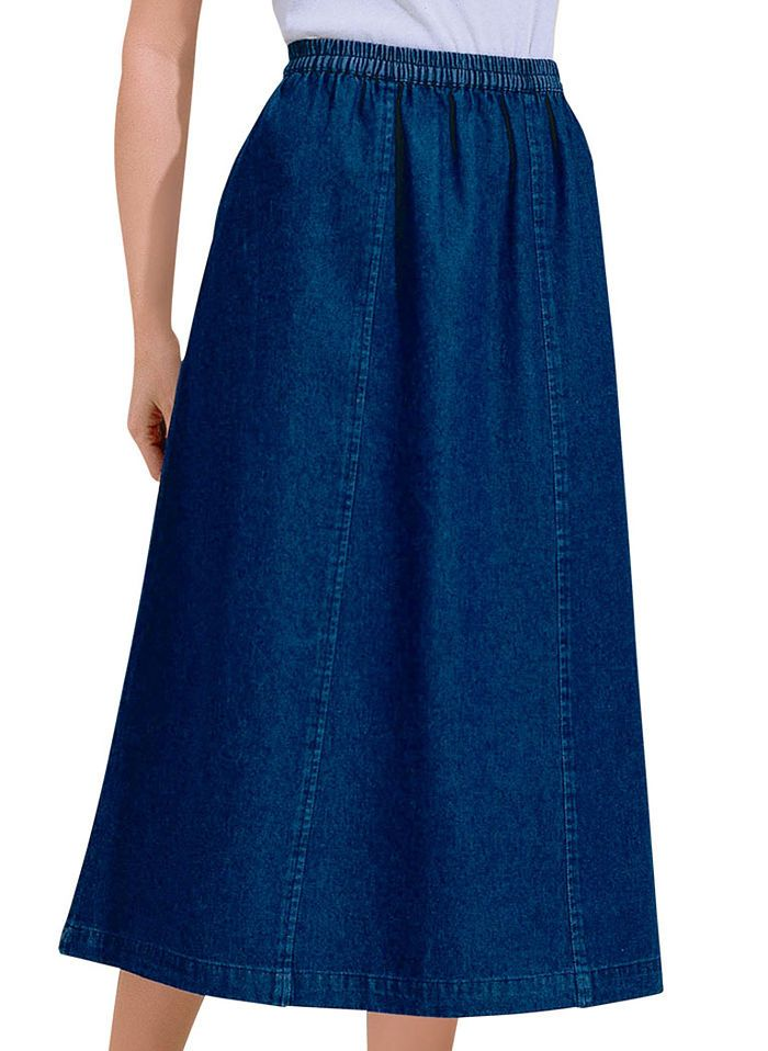 Misses Denim Skirts
