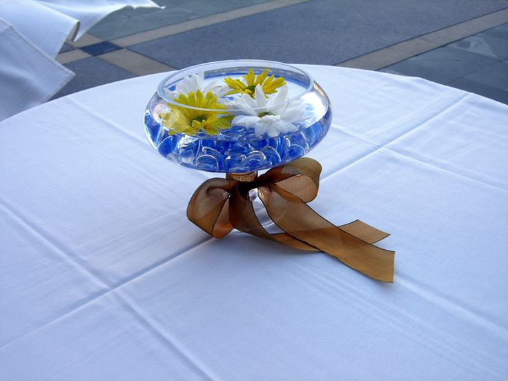 Blue centerpieces for weddings google search wedding