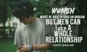 Women see the red flag but ignore them basically until we are broken and broken hearted