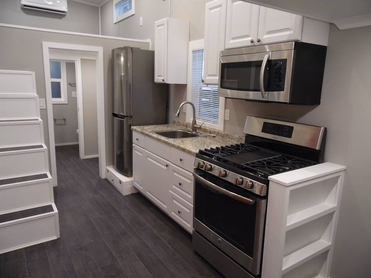 tiny house kitchen built by tiny house builder httpwwwuppervalleytinyhomes - Tiny House Builder