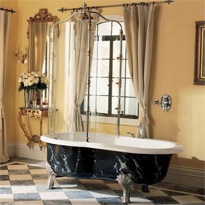 Calvari Rain Bath from Porcher  Interior  Freestanding