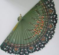 Spanish-Portugese-style-hand-held-fan-boxed