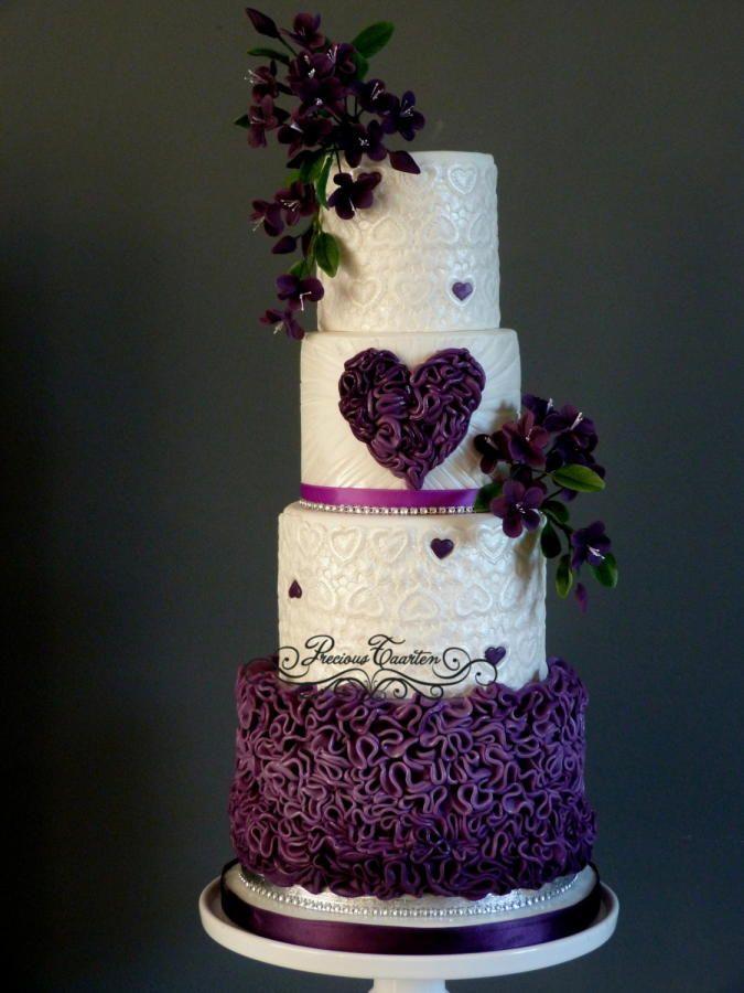 Purple - Cake by Peggy ( Precious Taarten)