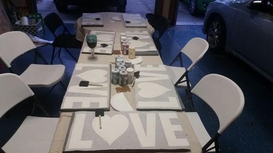 Do you want to learn how to throw an AWESOME girls night out!? Wine and Paint parties are SO POPULAR right now! This blog will teach you how I started!
