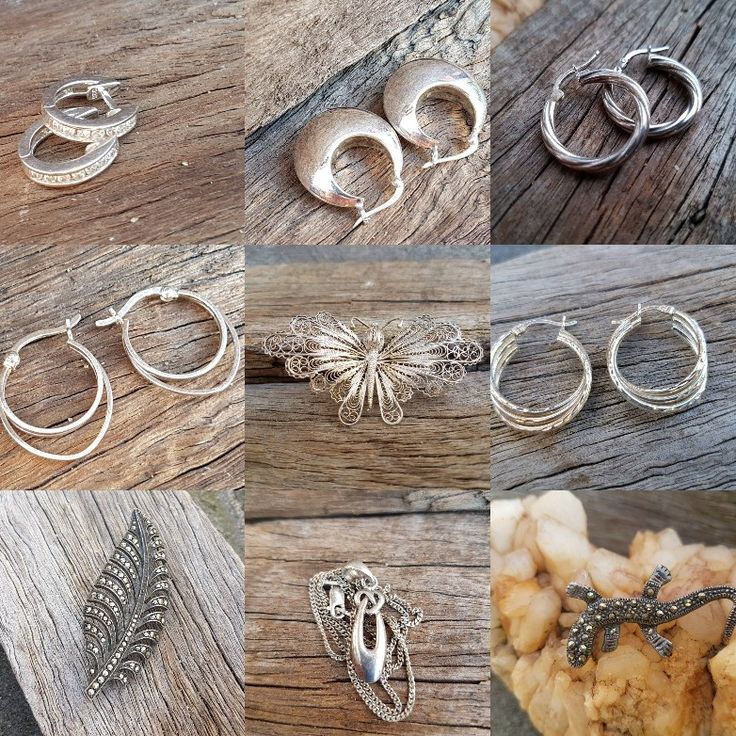 Lots of Sterling Silver Earrings In Store Now Free Domestic Shipping on orders over $50 Free worldwide shipping on orders over $100