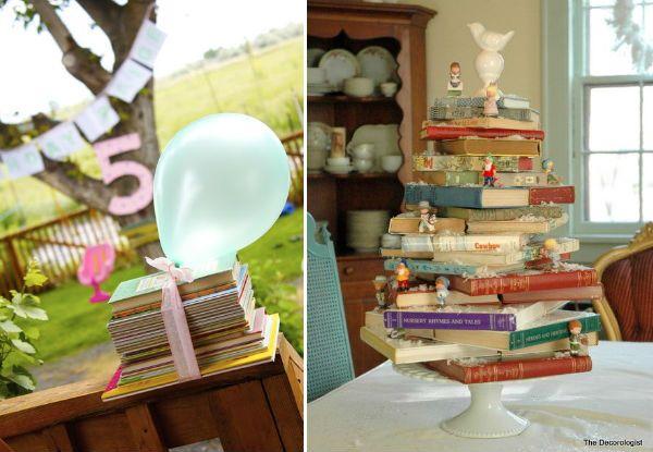 Festa de crianças com tema de livros: 35 grandes idéias!   – 2 anos do Davi