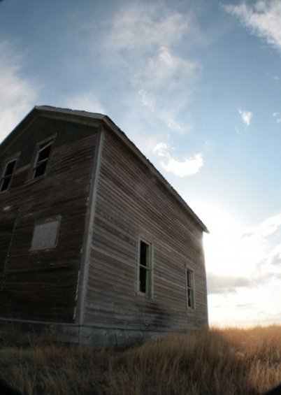 Abandoned farm house.  Photo credit: Kyle Nelson