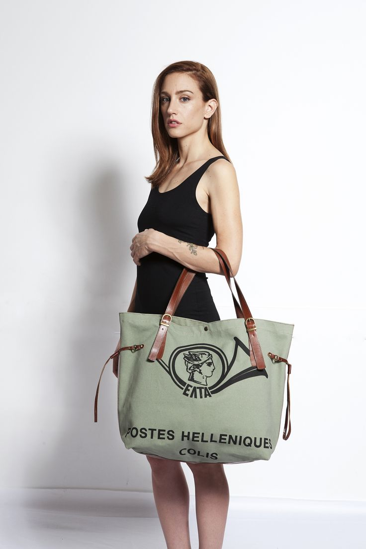 If you are looking for an authentic tote bag with a unique- distinctive pattern, this COLIS Tote Bag by Fotini Karagianni- Apartment 6 is the one!