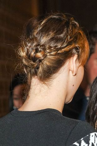 Jennifer Lawrence Wore a Cool Braided, Un-Katniss-like Updo To Comic Con Over the Weekend and You Have to See it From All Angles