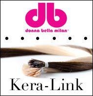 keratin hair extensions, fusion by Donna Bella, Sold at Vision Hair Extensions