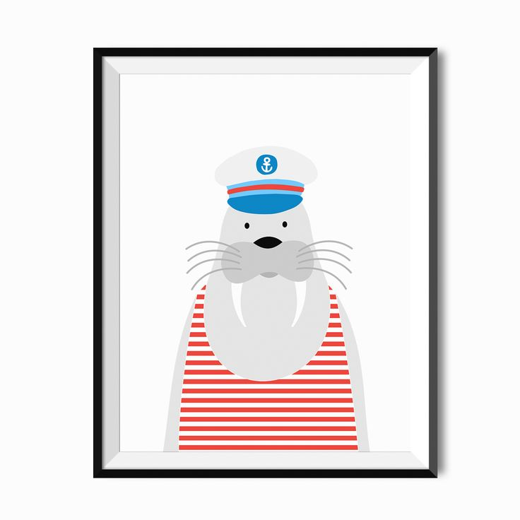 Plakat dla dziecka - Kapitan