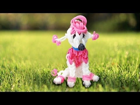 ▶ Making a Poodle on the Rainbow Loom - YouTube