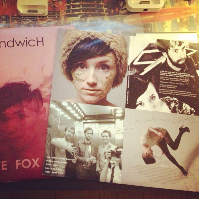 Signed 'White Fox' by Ham Sandwich