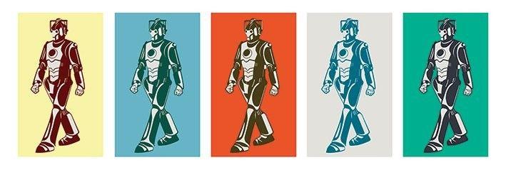 Doctor Who - Walking Cyberman - Plakát, Obraz na Posters.cz