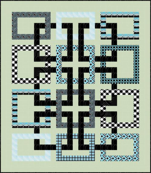 Free downloadable pattern for Movement in Squares at Ivory Spring. THERE ARE A NUMBER OF PATTERNS THAT MAY BE DOWNLOADED AT THIS SITE.
