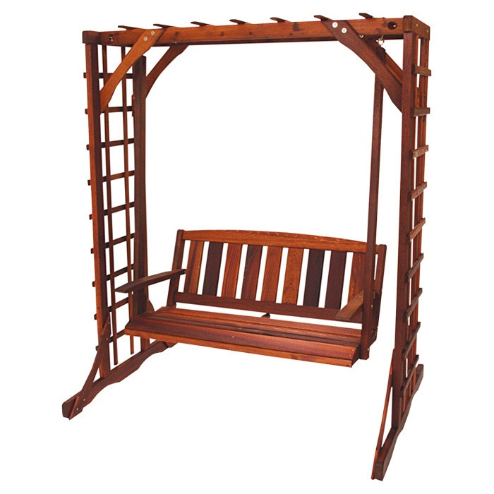 Make porch swing stand woodworking projects plans for White porch swing with stand