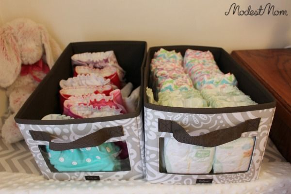 Thirty One Bins & Lids - tips on using for a new baby and giveaway!