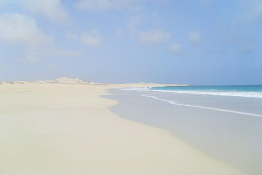 One of the world's most beautiful beaches.... Boa Vista, Cape Verde islands