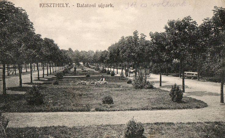 New Park, Keszthely, Hungary. 1918.