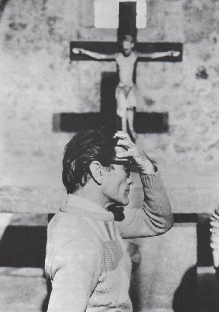 Pier Paolo Pasolini  Reminds me of my Catholic upbringing and education.