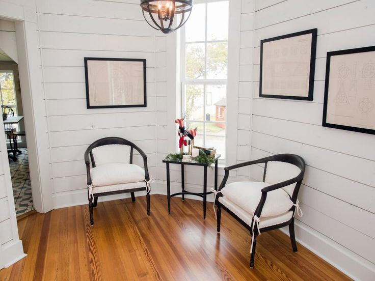 Fixer upper renovation and holiday decor at magnolia house bed and breakfast