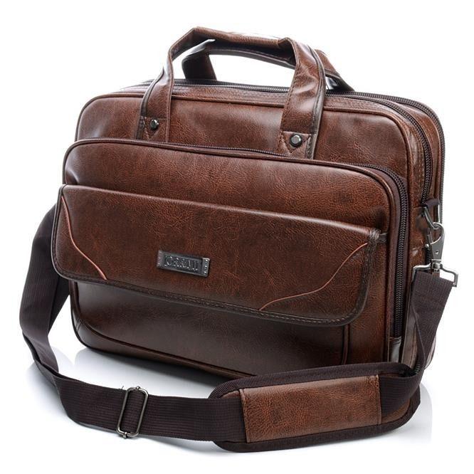 Brązowa torba męska Or&Mi na laptopa tylko w Mironit.pl http://mironti.pl/product-pol-6255-Elegancka-torba-meska-na-ramie-i-do-reki-Laptop-PU-3507-brazowa.html