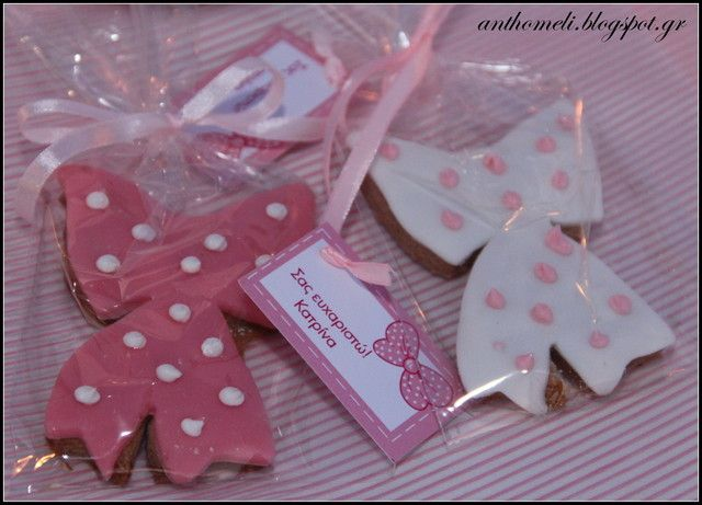 Bow Cookies (Baptism)