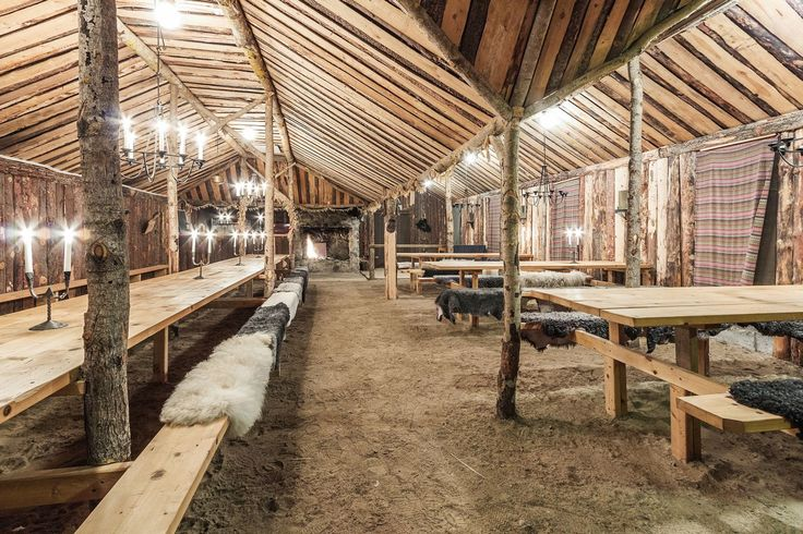 Viking dining hall medieval interior pinterest vikings for House dining hall images