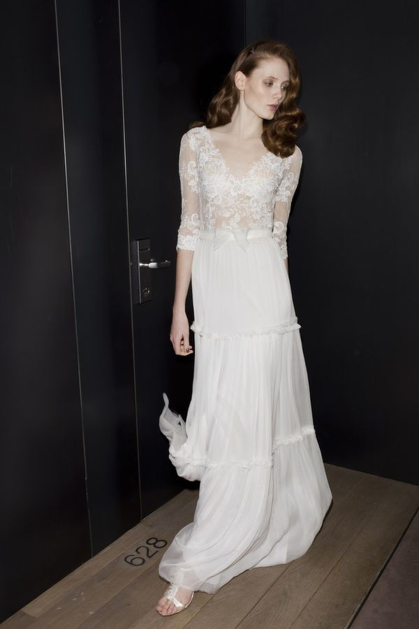 Great A view of the collection of Mira Zwillinger wedding dresses and couture bridal gowns