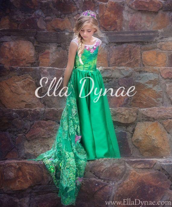 EDICIÓN limitada congelado Vestido de fiebre verde por EllaDynae
