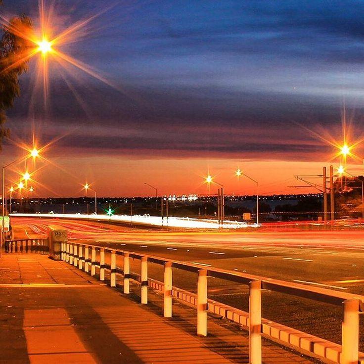 Kwinana Freeway, Perth.