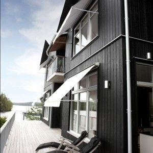 Artic ikkunamarkiisi - Sandatex kankaalla
