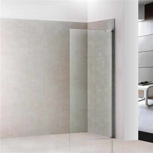 how to clean shower screen door