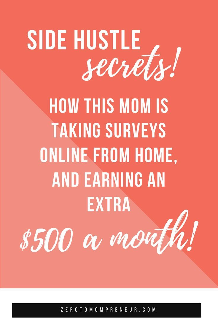 Want to make money from home fast? If you're a mom looking for online, learning how to take surveys for money online is a great start! This is a legit way to earn money online. Click through to see my step by step guide and tutorial for how to take surveys for fast cash! #workfromhome #makemoneyonline #sahm #wahm