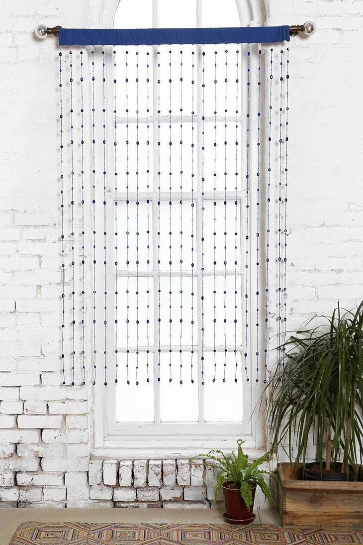 Details about red non iridescent raindrops beaded curtain - Magical Thinking Seeing Eye Beaded Curtain Urbanoutfitters