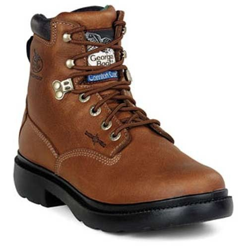 Georgia Boots Men's 6in Waterproof Comfor Core Farm & Ranch Work Boots