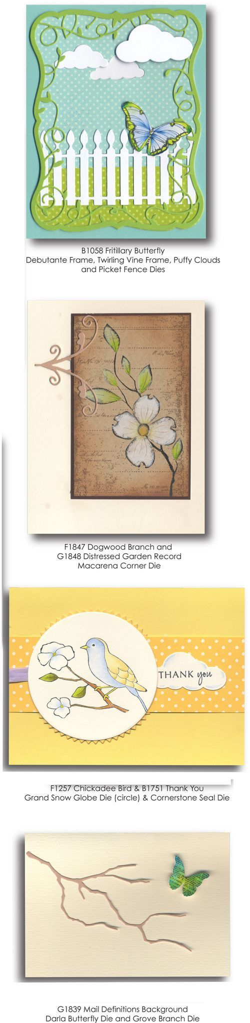 best cards dies memory box images on pinterest memory box