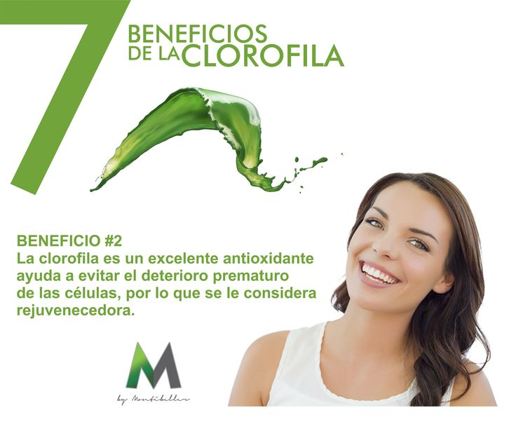 7 beneficios de la clorofila #2