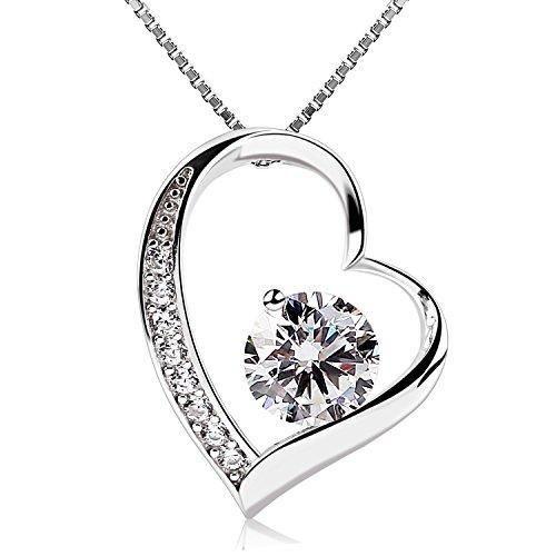 Oferta: 15.99€ Dto: -68%. Comprar Ofertas de B.Catcher Collar de plata de ley con Corazón para mujer Con una caja regalos del barato. ¡Mira las ofertas!