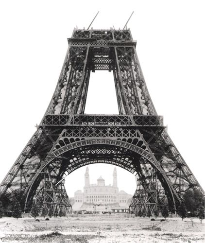 Unfinished Eiffel tower