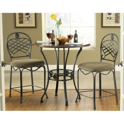 wimberly counter table 3 piece set available at kitchen tables more 30448 - Kitchen Bistro Tables And Chairs