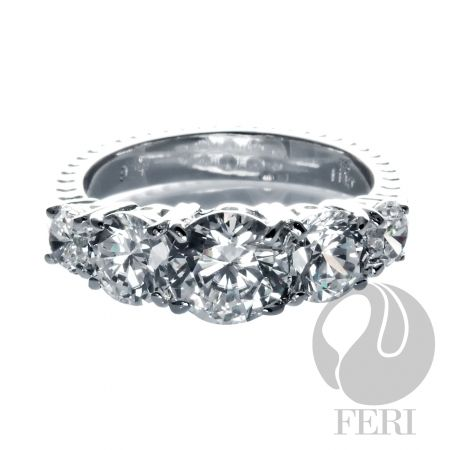 My Lover Ring from GWT Galleries, FERI Designer Lines.  I love this at such an incredible price only $225.00 for solid .925 sterling silver, with 0.1 micron natural rhodium.  Even the most sensitive of sensitives can wear this ring with confidence.