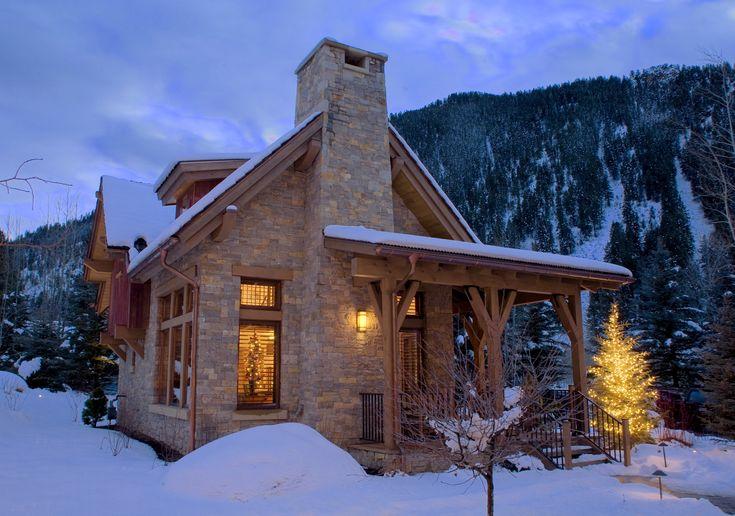Mountain home...Kinda cold but quiet enough.
