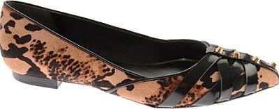 Boutique 9 Shoes - Spruce up your look with this fun pointy toe ballet flat. - #boutique9shoes #leopardshoes