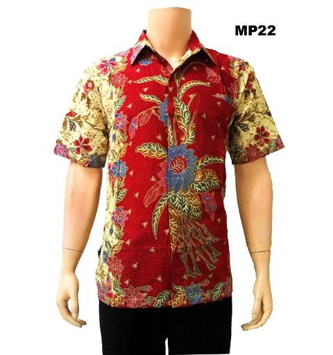 Baju Batik Pria Modern Mp22 Products I Love Pinterest