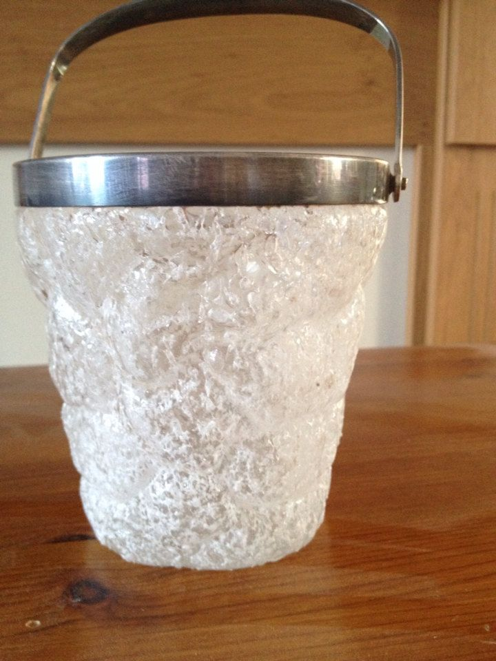 antique WFM ice bucket lead crystal by miablisscurios on Etsy, £40.00