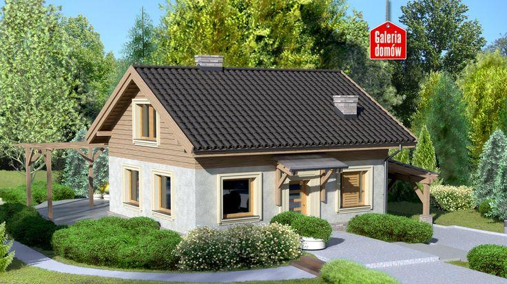 Karta projektu Dom przy Imbirowej - Galeria Domów