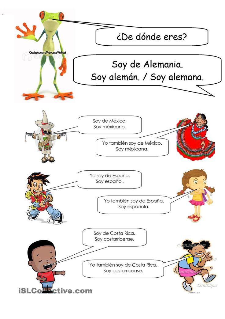 de d nde eres elementary spanish elementary spanish spanish peanuts comics. Black Bedroom Furniture Sets. Home Design Ideas
