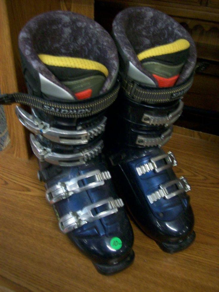 Salomon ski boots men's size 27.5 8098