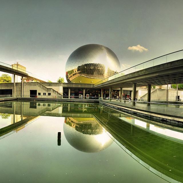 Cité des Sciences de La Villette, Paris. (City of Science). A modern interactive museum dedicated to science  technology.